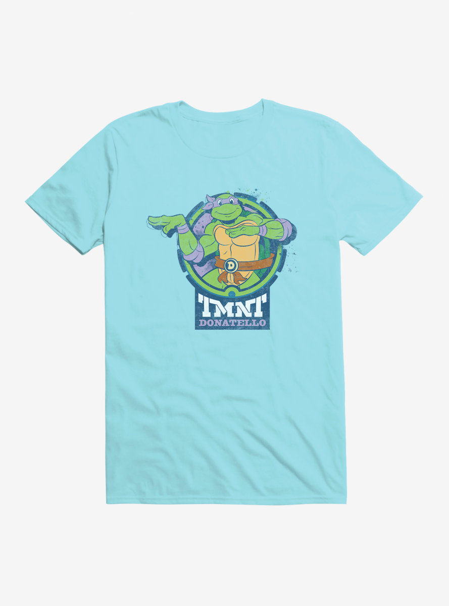 Teenage Mutant Ninja Turtles Donatello Badge T-Shirt