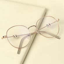Kleinkind Kinder Brille mit metallischem Rahmen