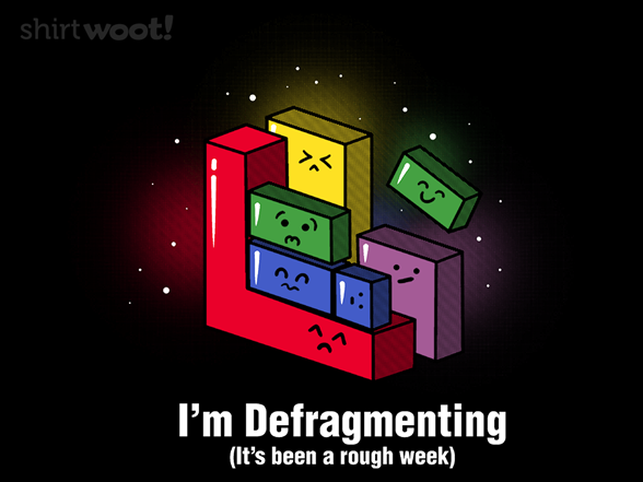 Defragmenting T Shirt
