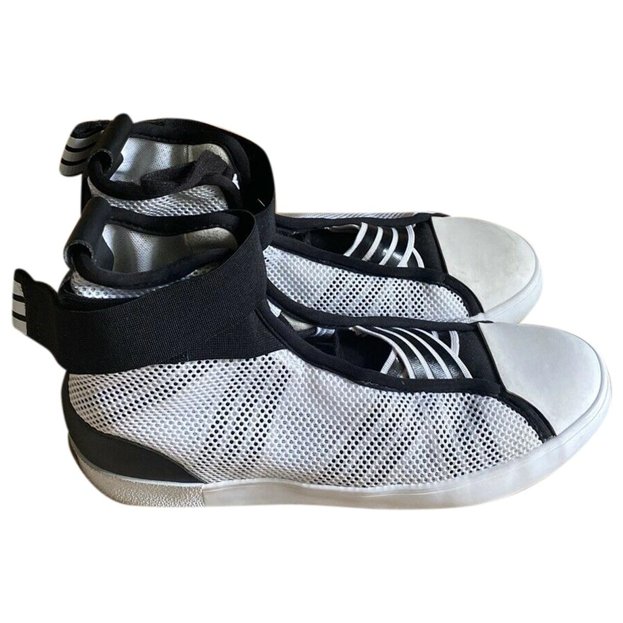 Y-3 - Baskets   pour femme en toile - blanc