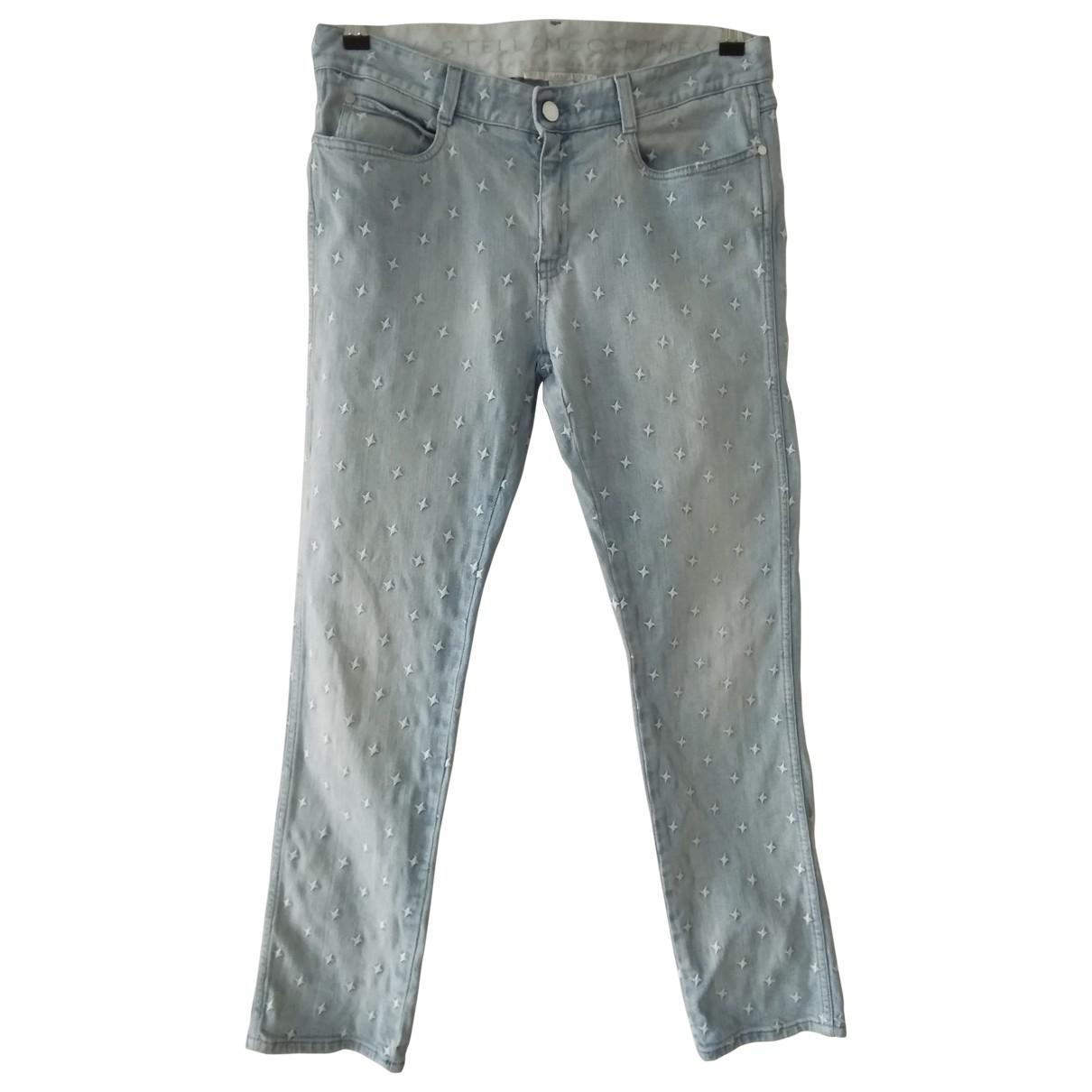 Stella Mccartney N Blue Cotton Jeans for Women 30 US