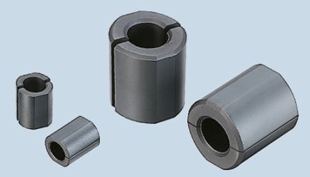 TDK Ferrite Ring Ferrite Core, For: Round Cable, 12 x 7.3 x 15mm (10)
