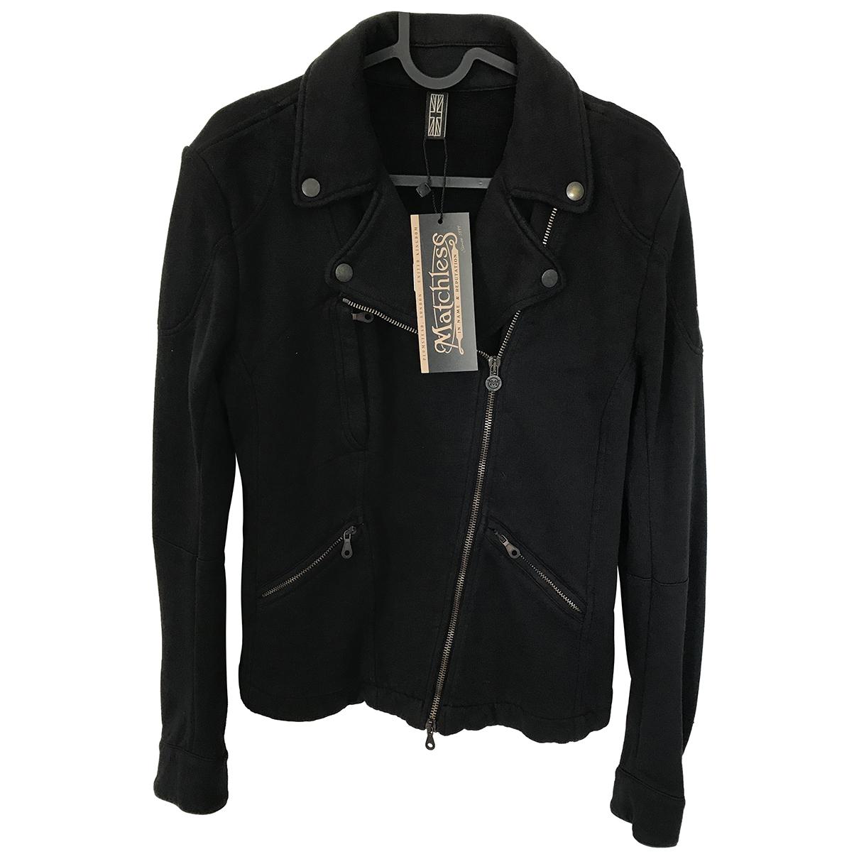 Matchless \N Jacke in  Schwarz Baumwolle