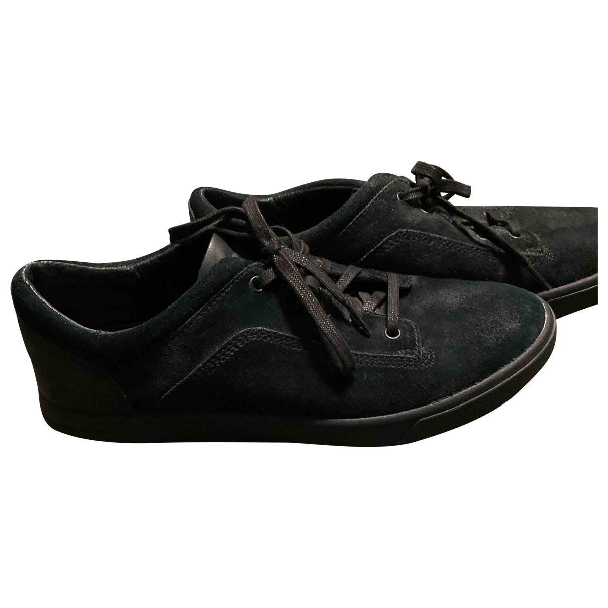 Ugg \N Sneakers in  Blau Veloursleder