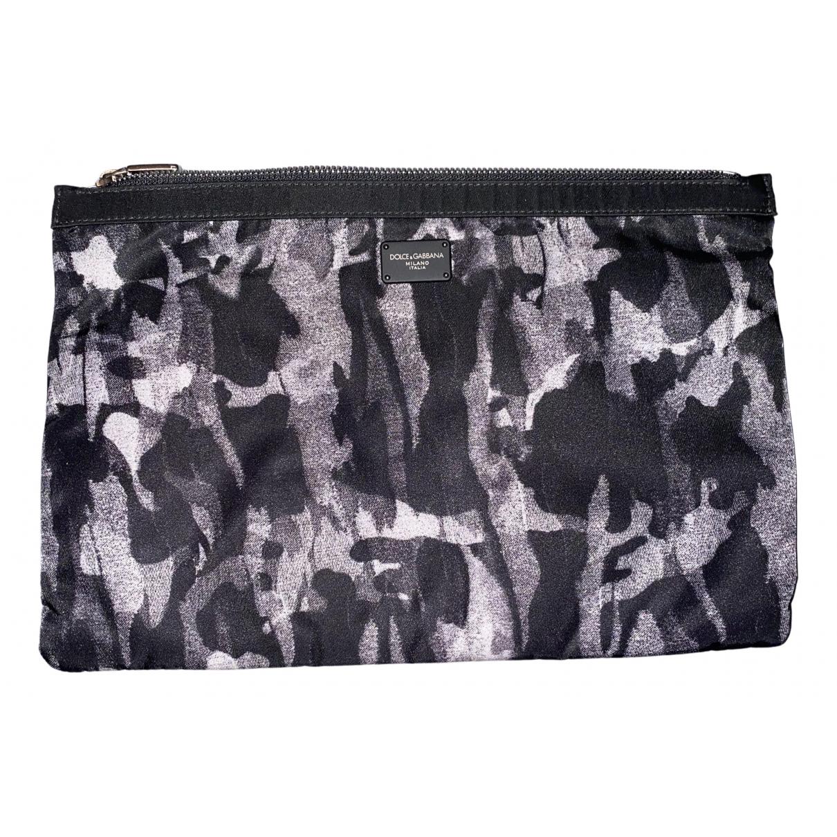 Dolce & Gabbana N Grey Cloth Small bag, wallet & cases for Men N