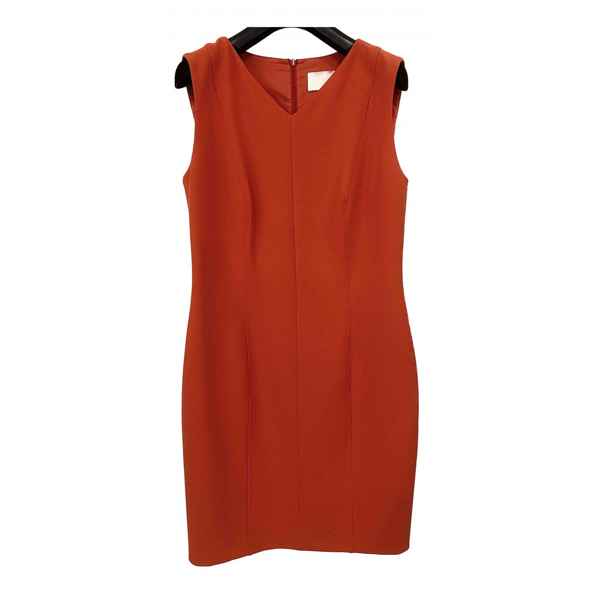 Boss \N Kleid in  Rot Polyester