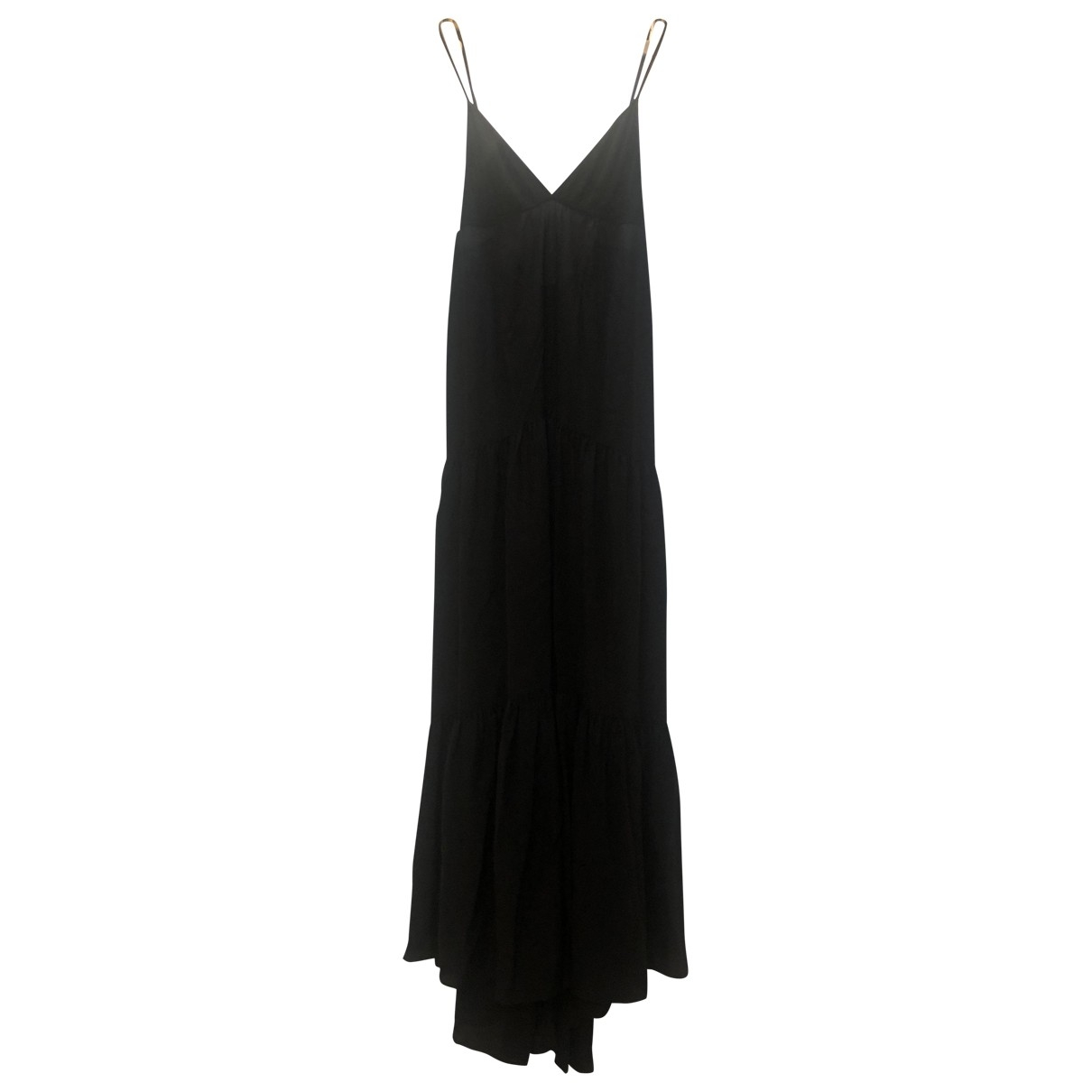 L'agence \N Black Silk dress for Women 2 0-5