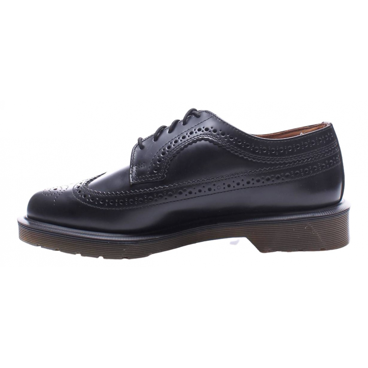 Dr. Martens \N Black Leather Flats for Men 41 EU