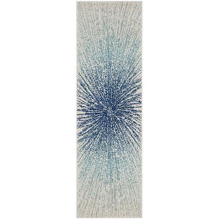 Safavieh Evoke Collection Aliya Abstract Runner Rug, One Size , Multiple Colors