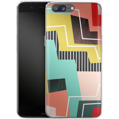 OnePlus 5 Silikon Handyhuelle - Color Block I von Susana Paz