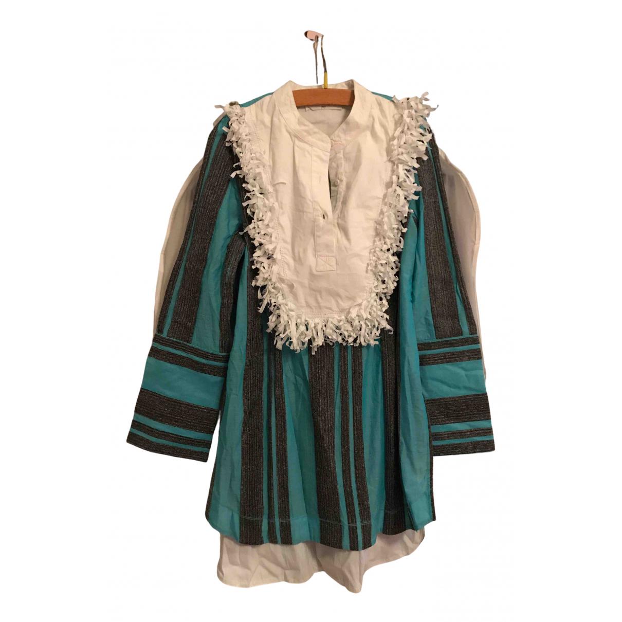 Maria Grazia Severi \N Kleid in  Gruen Baumwolle