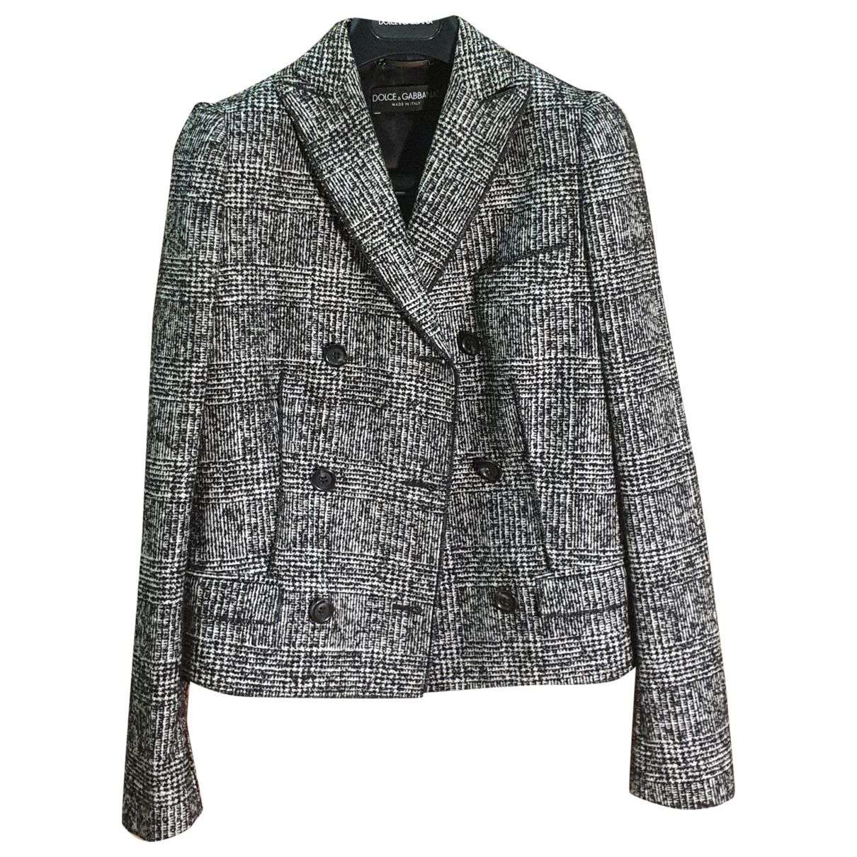 Dolce & Gabbana \N Jacke in  Grau Tweed