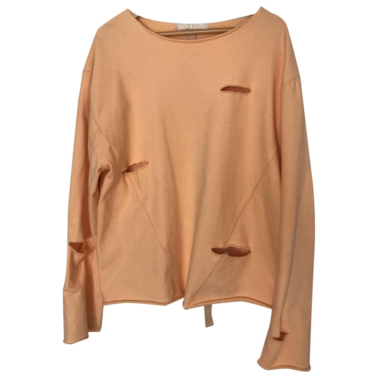 Off-white \N Pullover.Westen.Sweatshirts  in  Rosa Baumwolle