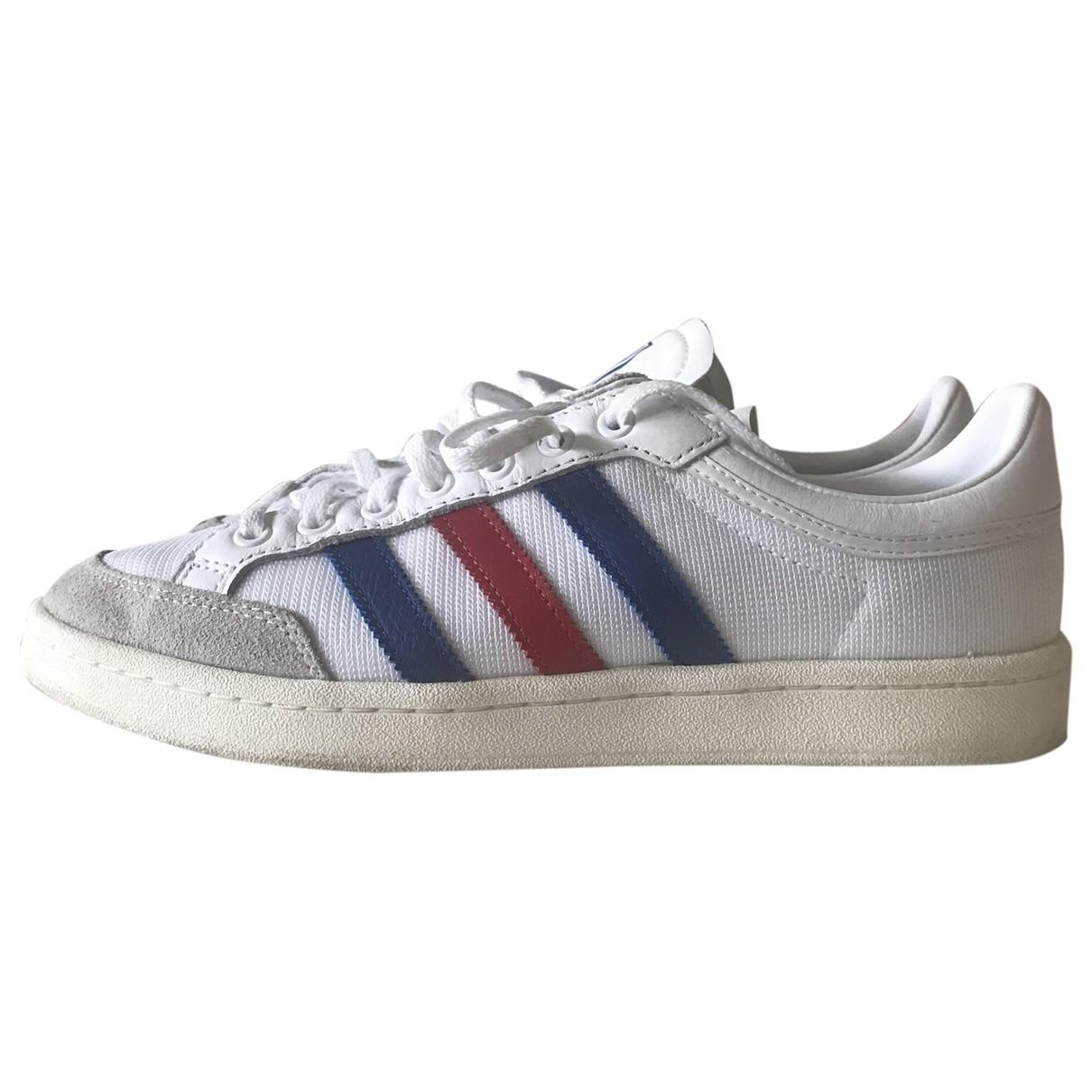 Adidas \N White Cloth Trainers for Men 42.5 EU