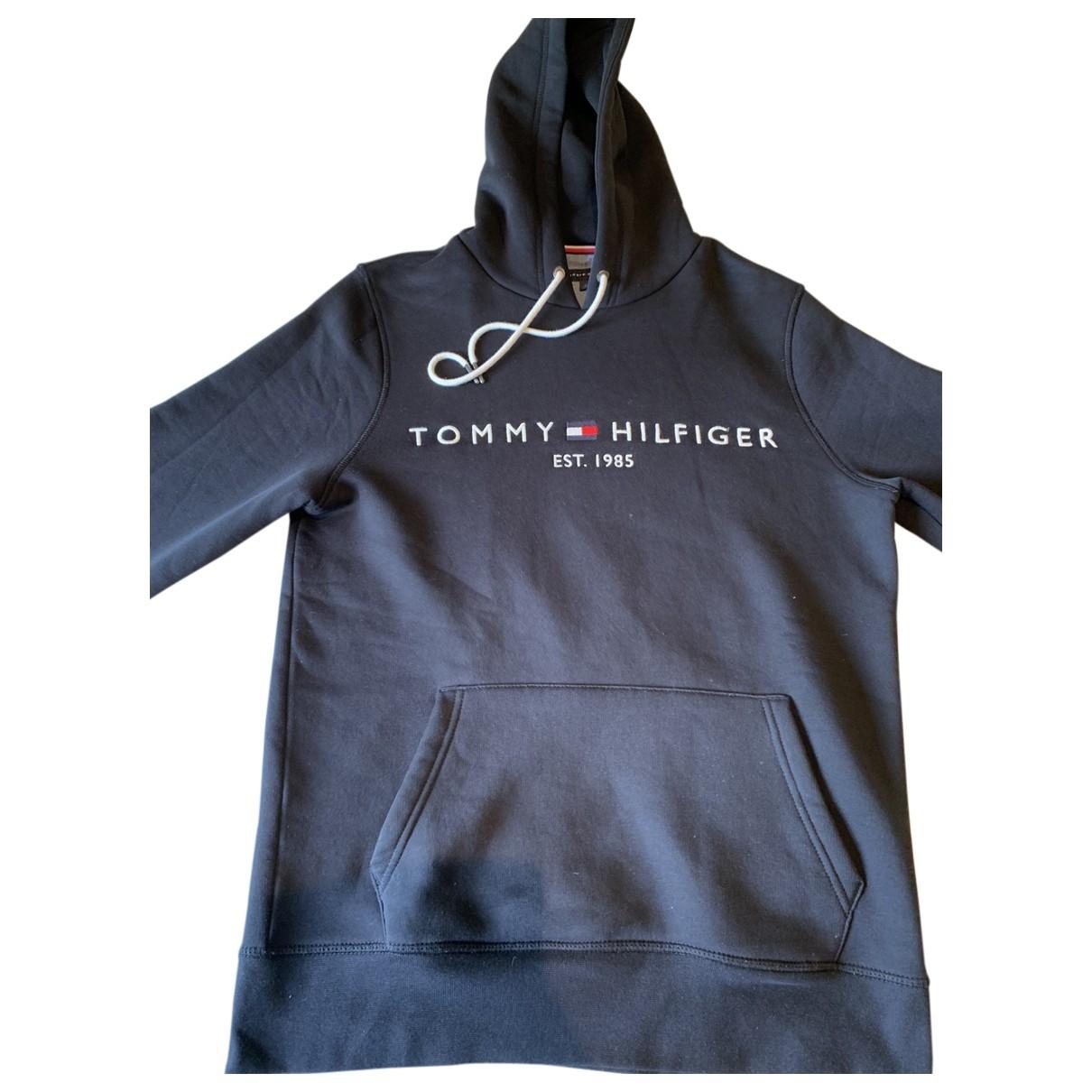Tommy Hilfiger \N Black Cotton Knitwear & Sweatshirts for Men S International