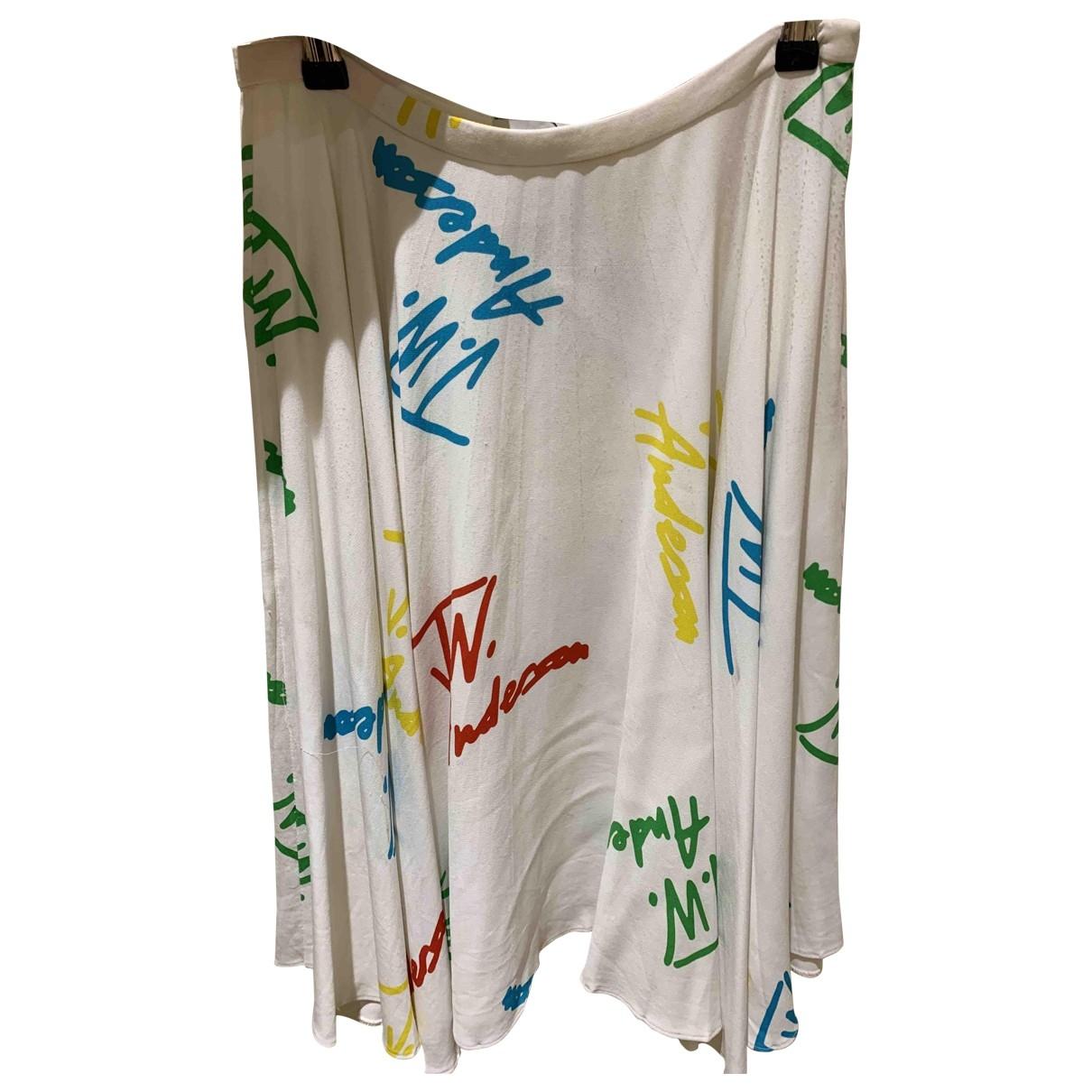 J.w. Anderson \N White skirt for Women 2 US