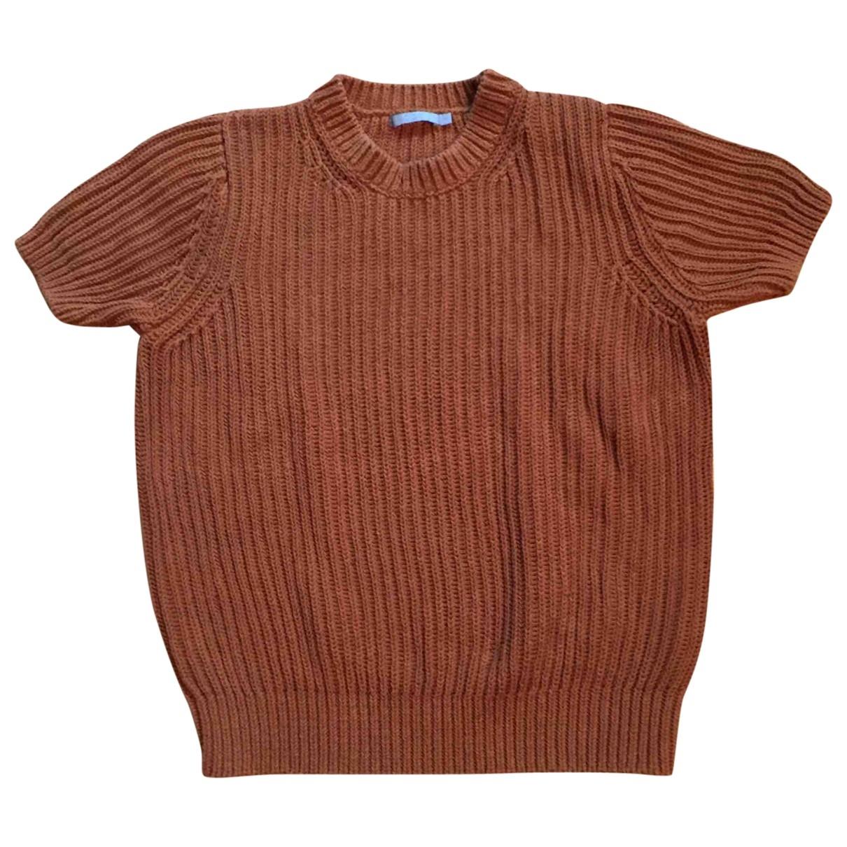 Cos \N Pullover in  Beige Baumwolle