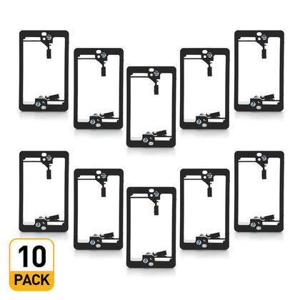 1-Gang Low Voltage Mounting Bracket - PrimeCables® - 10pack