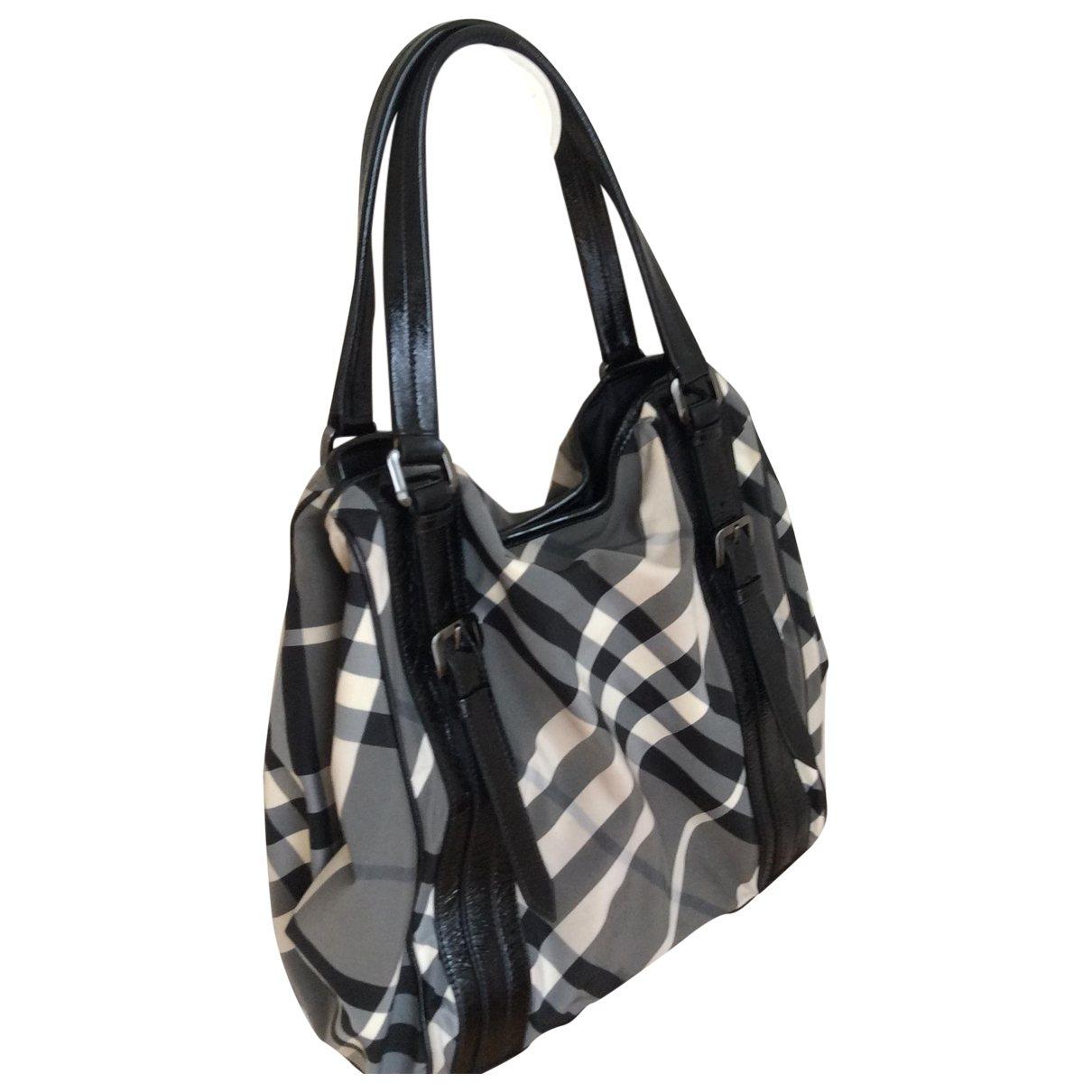 Burberry \N Anthracite handbag for Women \N