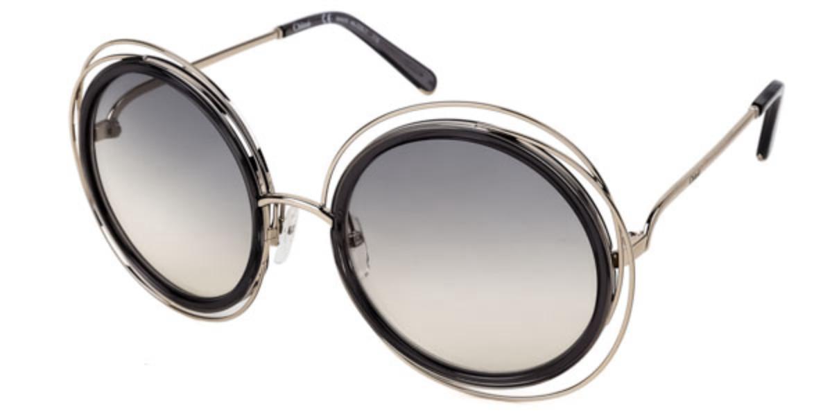 Chloe CE 120S Carlina 731 Women's Sunglasses Gold Size 58