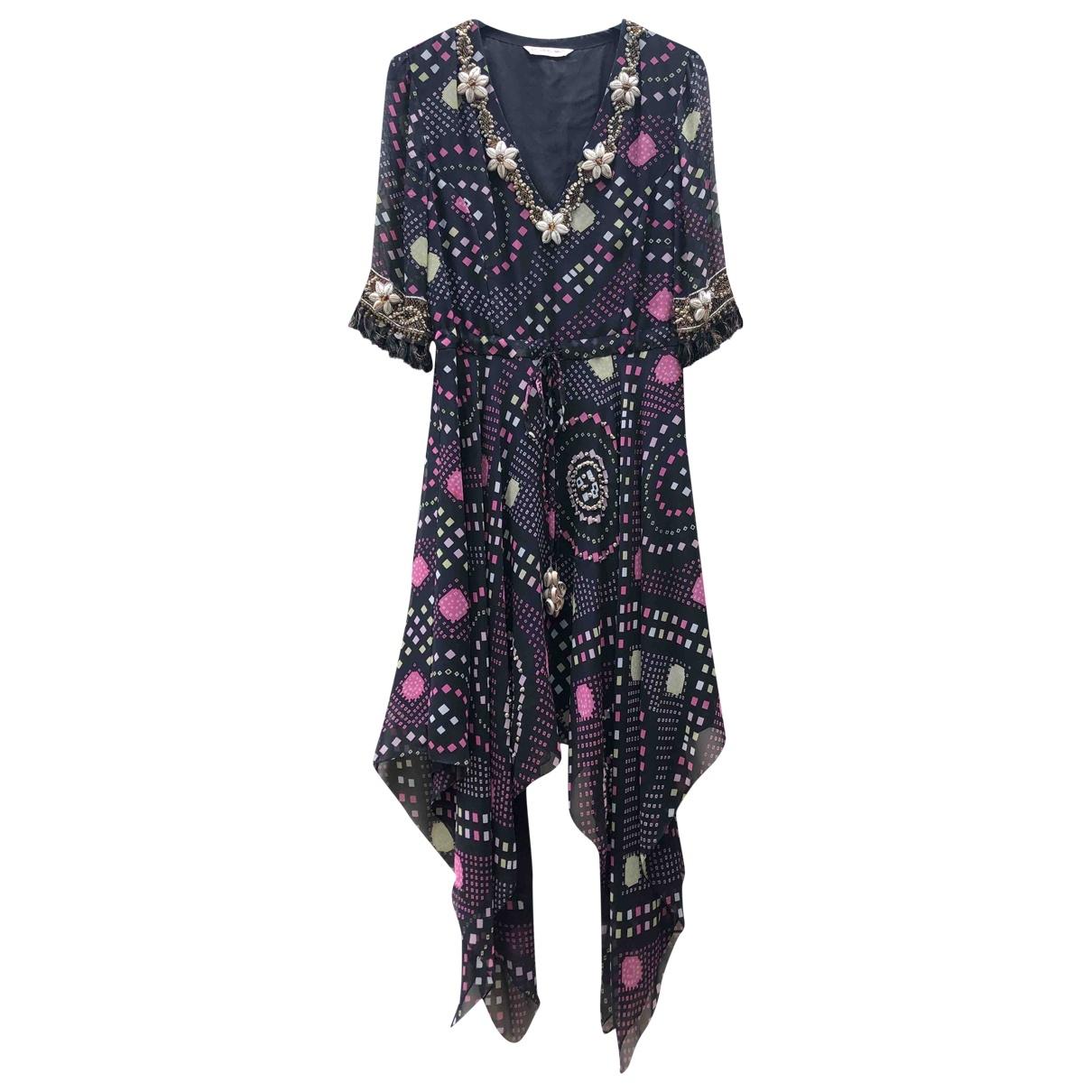 Matthew Williamson \N Navy Silk dress for Women 12 UK