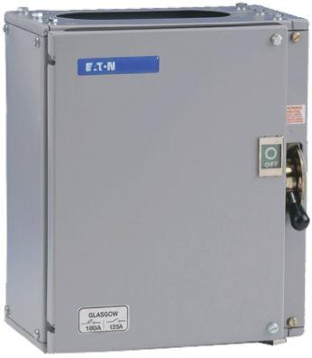 Eaton 100 A 3P + N Fused Isolator Switch, SB3, SB4, SD5, SO Fuse Size