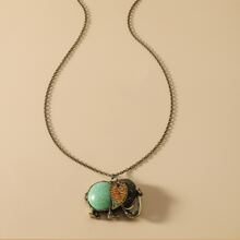 Vintage Animal Charm Necklace