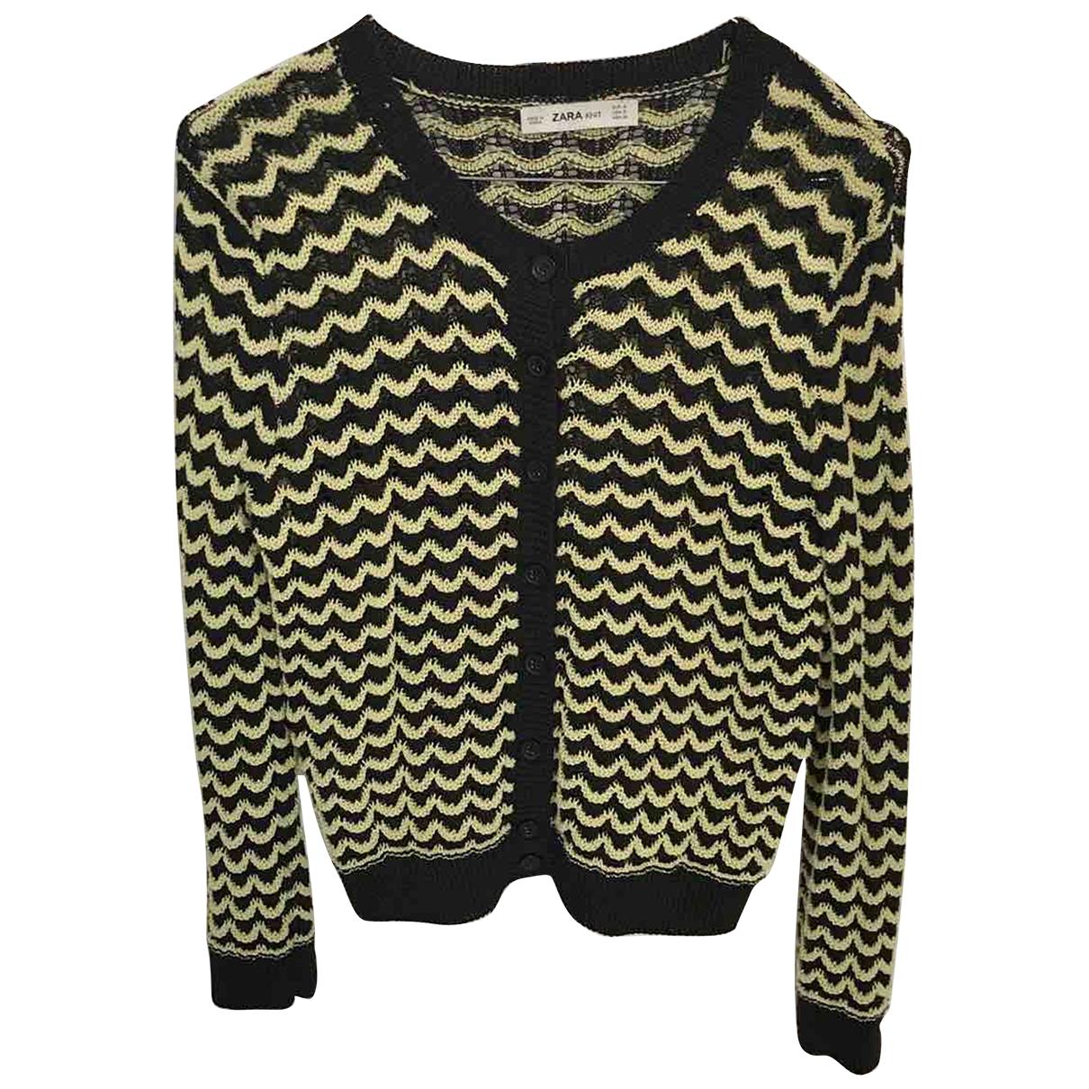 Zara - Pull   pour femme en coton