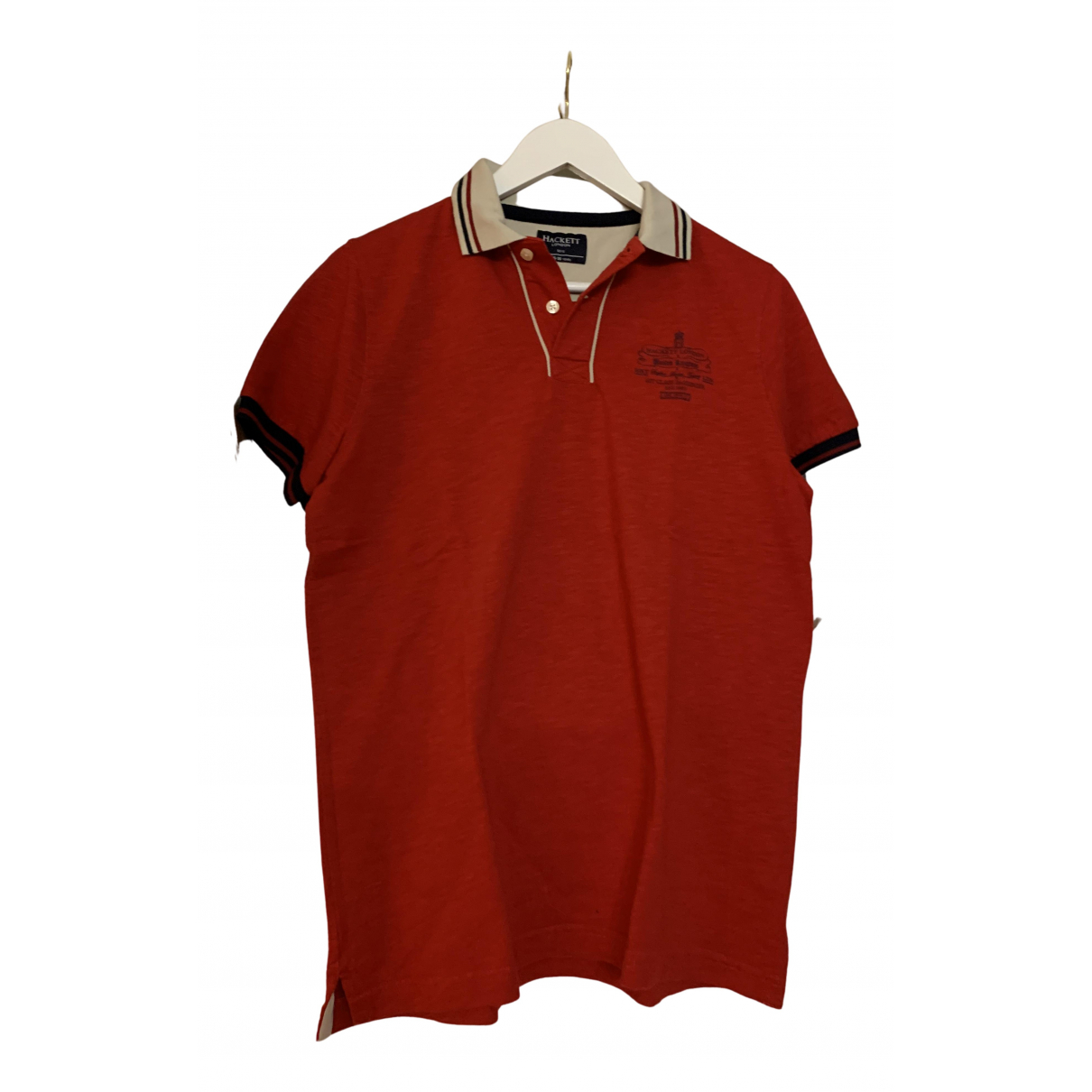 Hackett London N Red Cotton  top for Kids 16 years - M FR