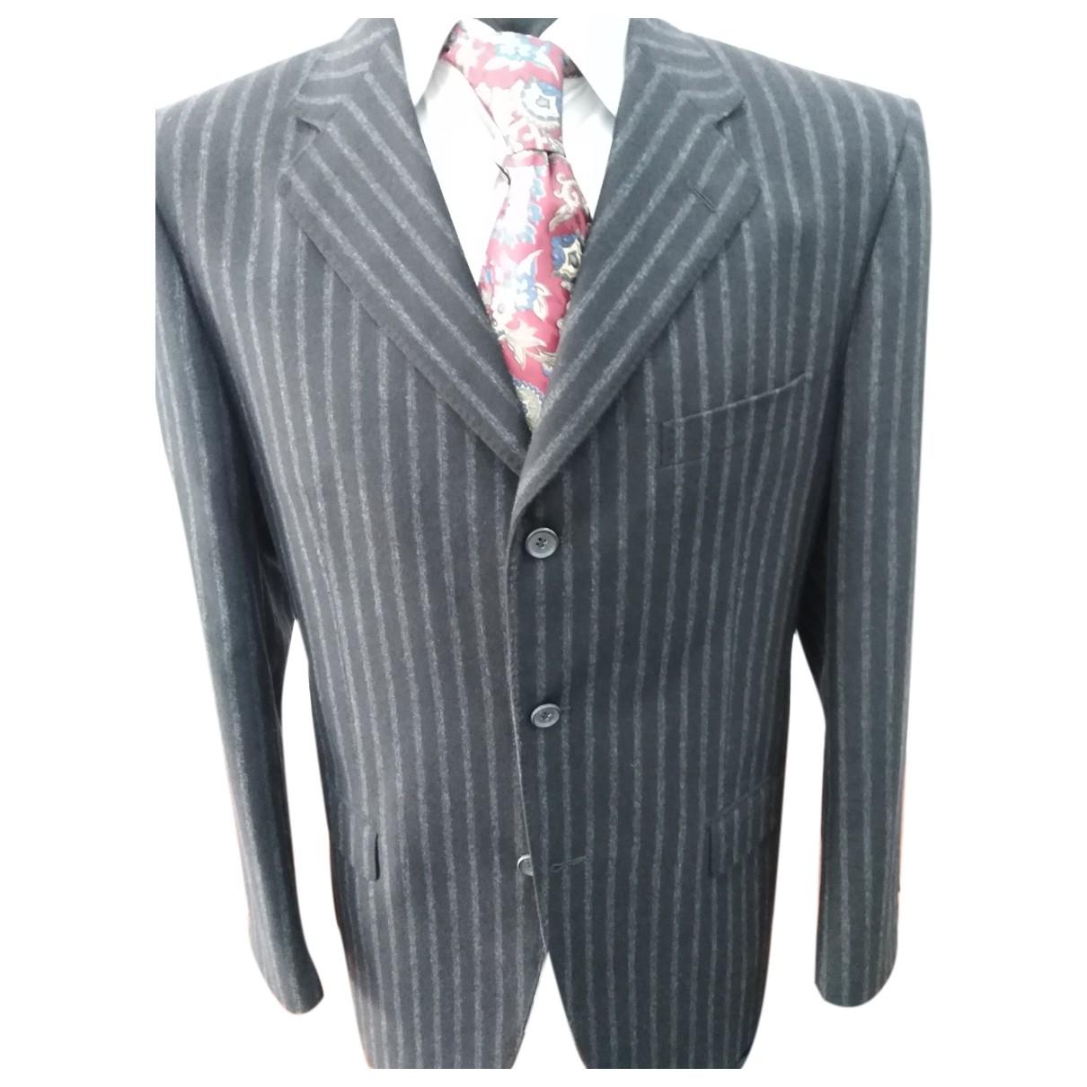 Autre Marque - Costumes   pour homme en laine - noir