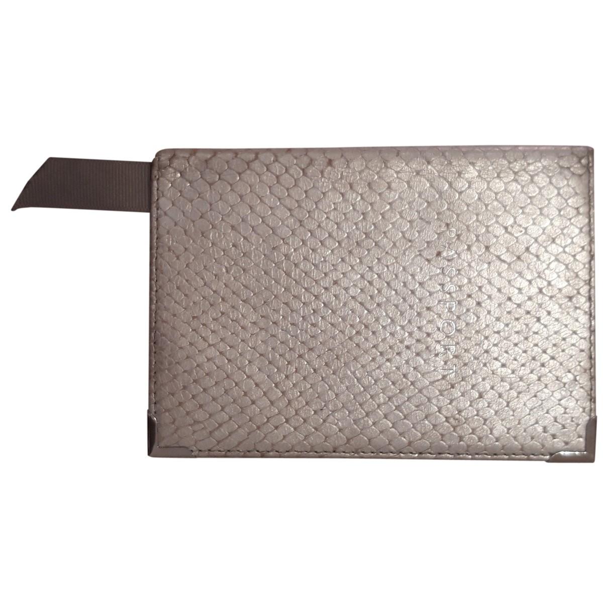 Aspinal Of London - Objets & Deco   pour lifestyle en cuir - argente