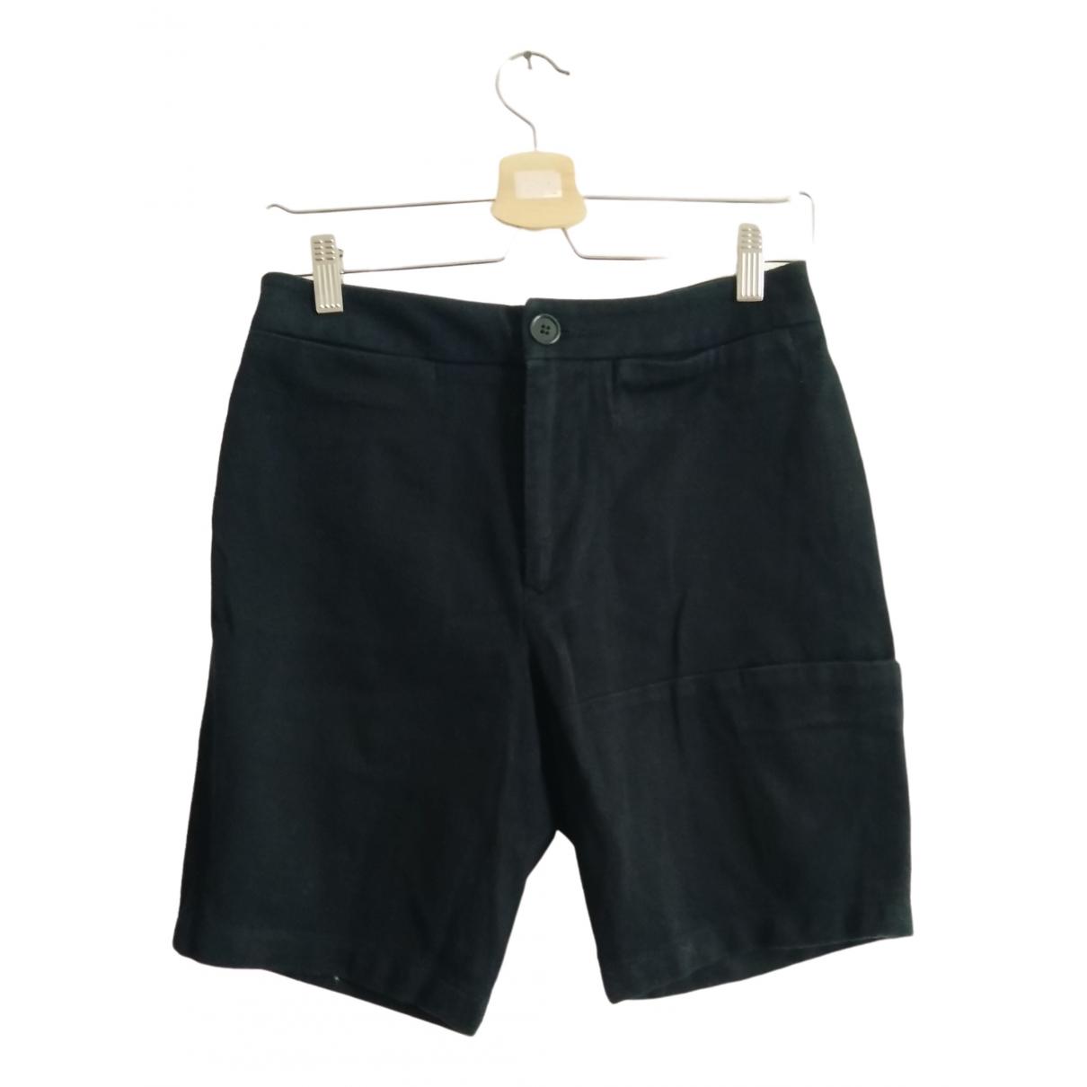 Dirk Bikkembergs \N Shorts in  Marine Baumwolle