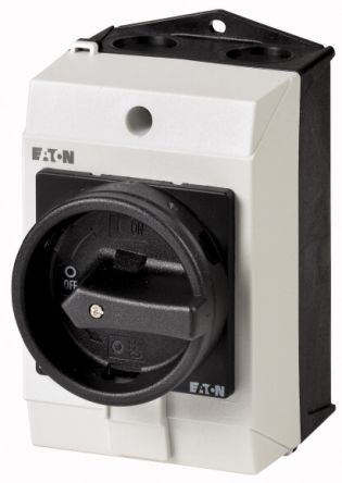 Eaton 5 Pole Surface Mount Non-Fused Switch Disconnector - 20 A Maximum Current, 5.5 kW Power Rating, IP65