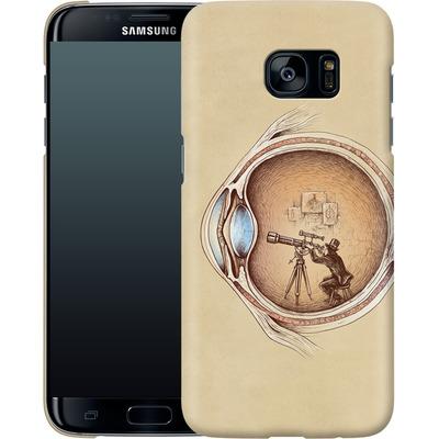 Samsung Galaxy S7 Edge Smartphone Huelle - Extraordinary Observer von Enkel Dika