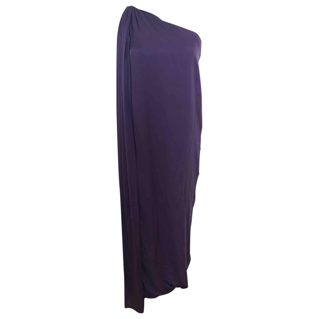 Carolina Herrera \N Purple Silk dress for Women 10 UK