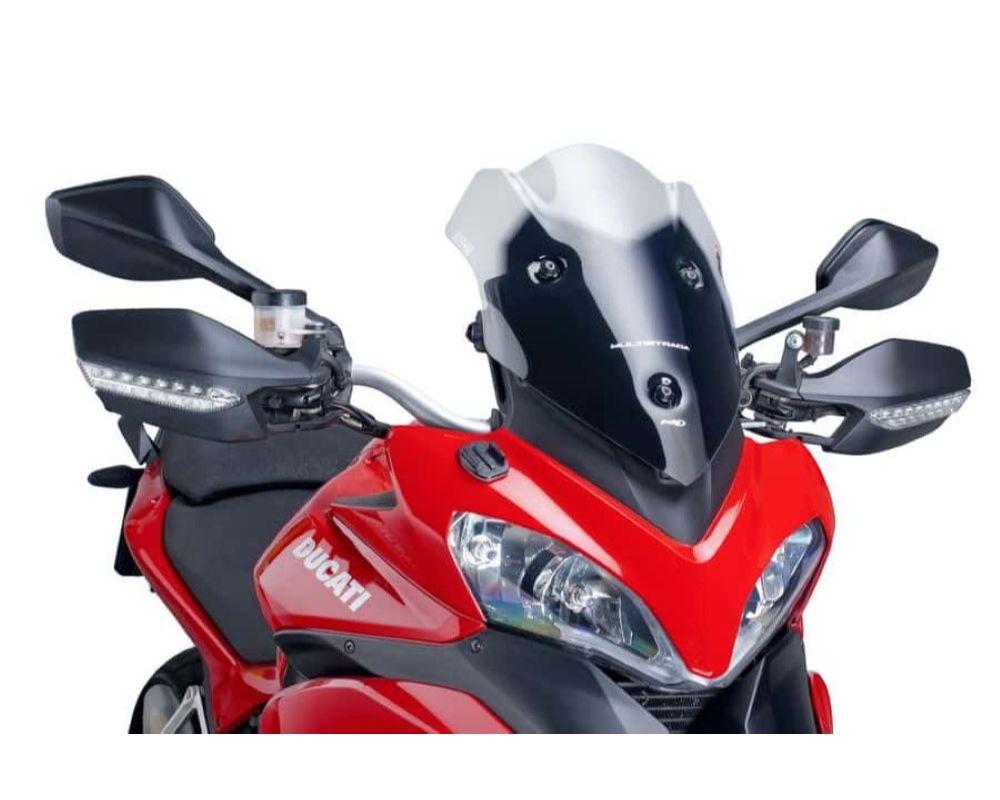 Puig 6273W Touring Windscreen - Clear Ducati Multistrada 1200 2010