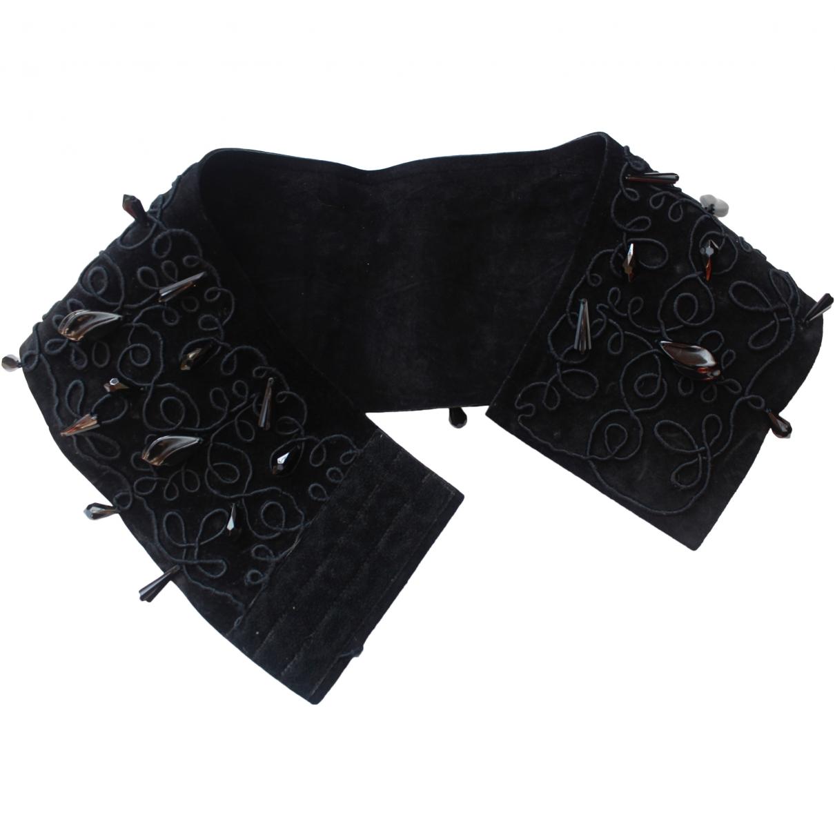 Dior \N Black Leather belt for Women 70 cm