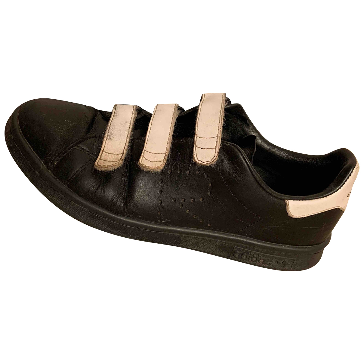 Adidas X Raf Simons Stan Smith Black Leather Trainers for Men 6 UK