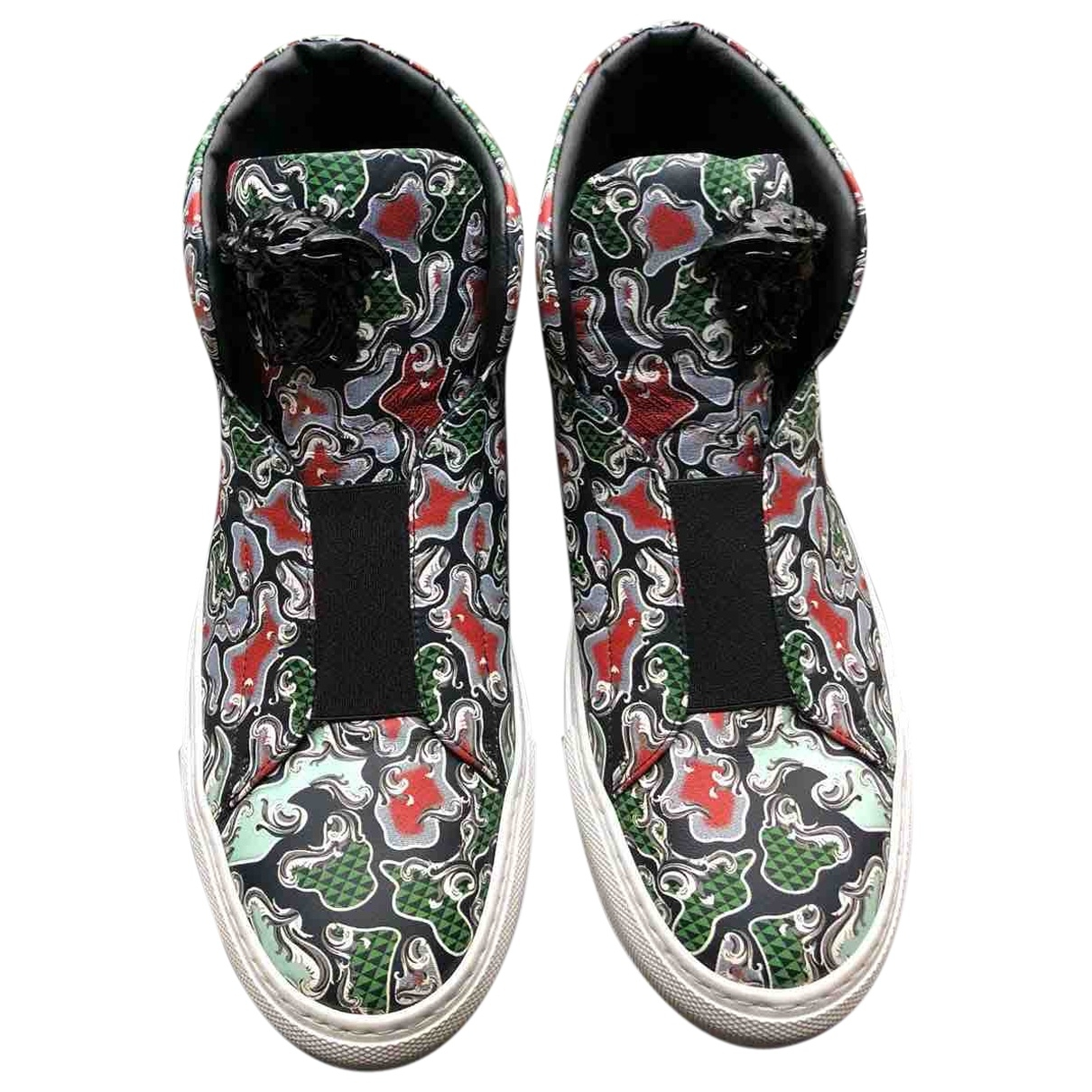 Versace \N Sneakers in  Bunt Leder