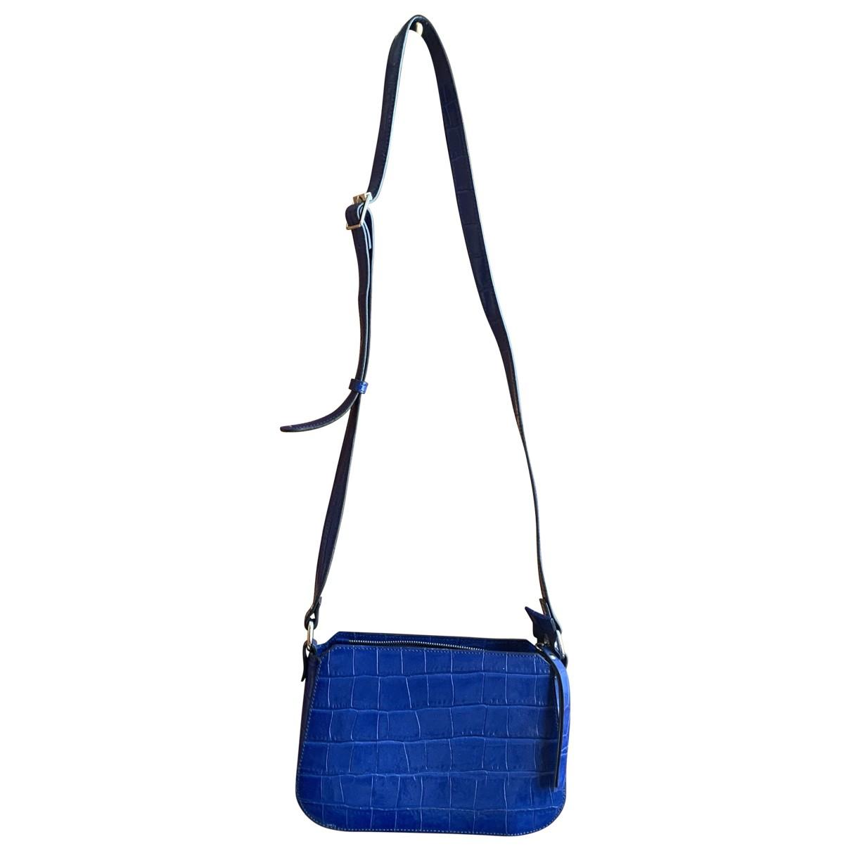 Baldinini \N Blue Leather handbag for Women \N