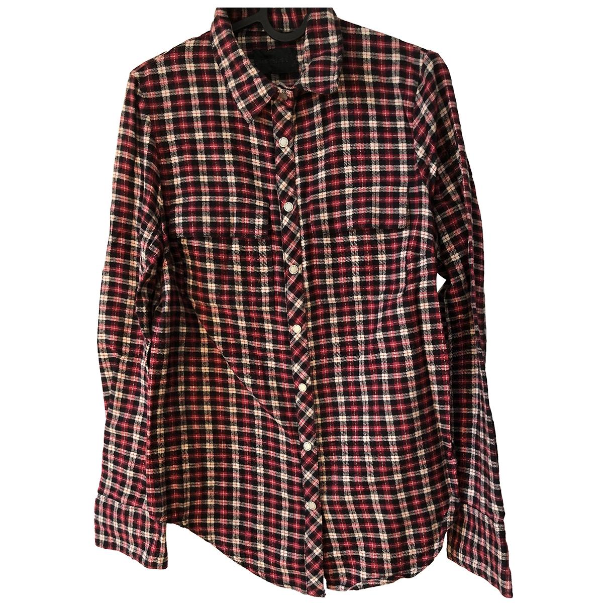 Zadig & Voltaire - Top   pour femme en laine - rouge