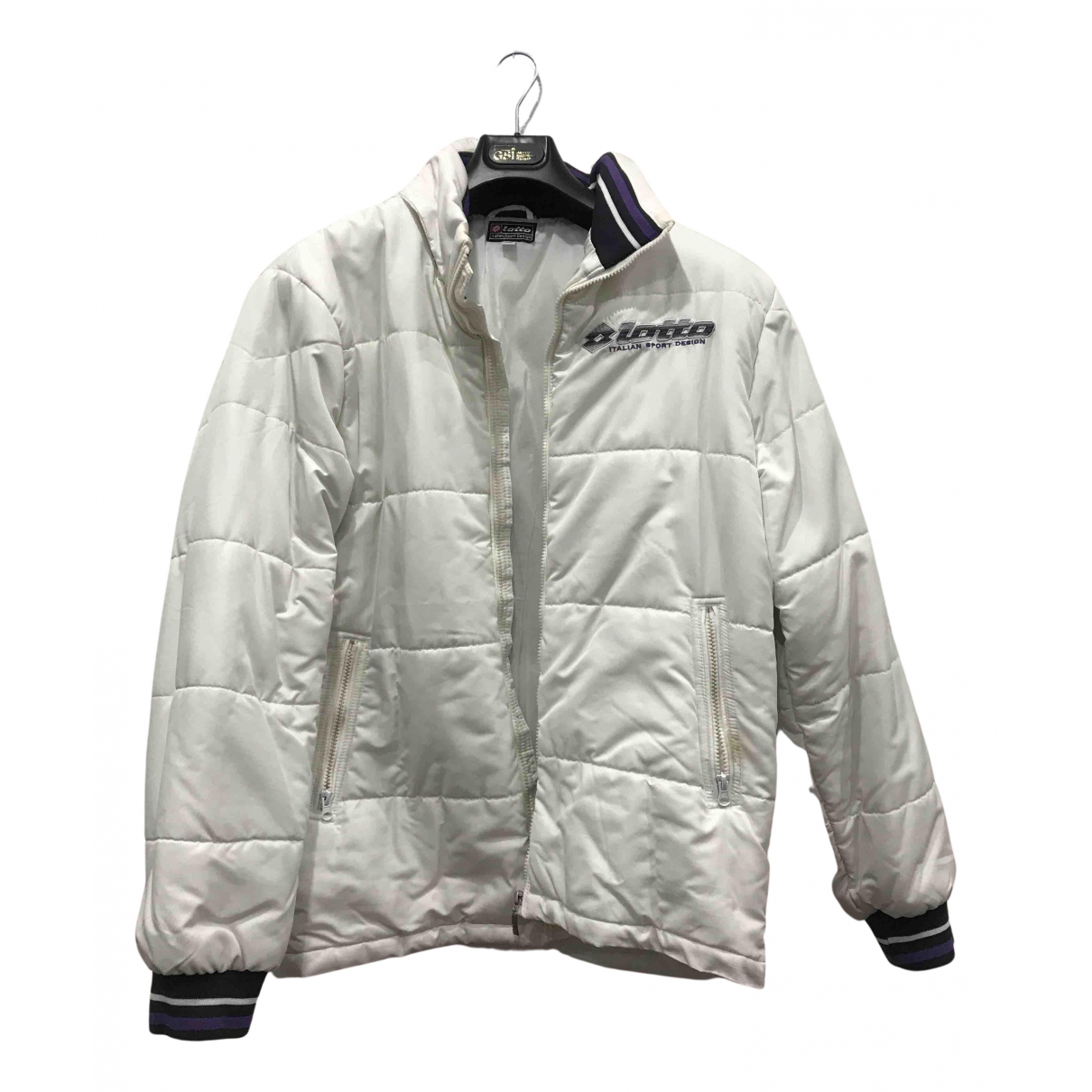Lotto \N Jacke in  Weiss Polyester