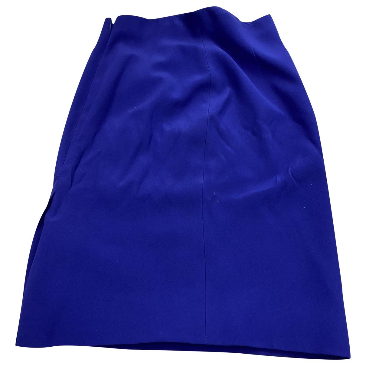 Alexander Mcqueen - Jupe   pour femme - bleu