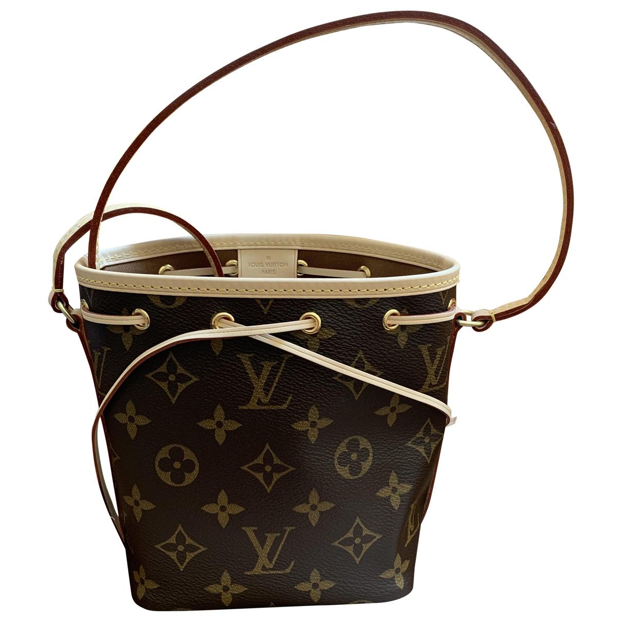 Louis Vuitton NéoNoé Brown Cloth handbag for Women \N