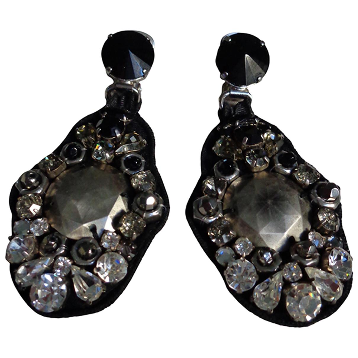 Prada - Boucles doreilles   pour femme en metal - argente