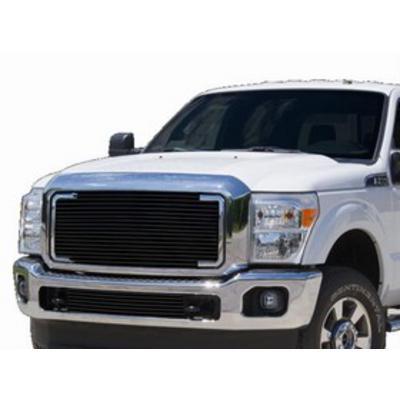 Carriage Works Billet Aluminum Grille Insert ( Black) - 44803