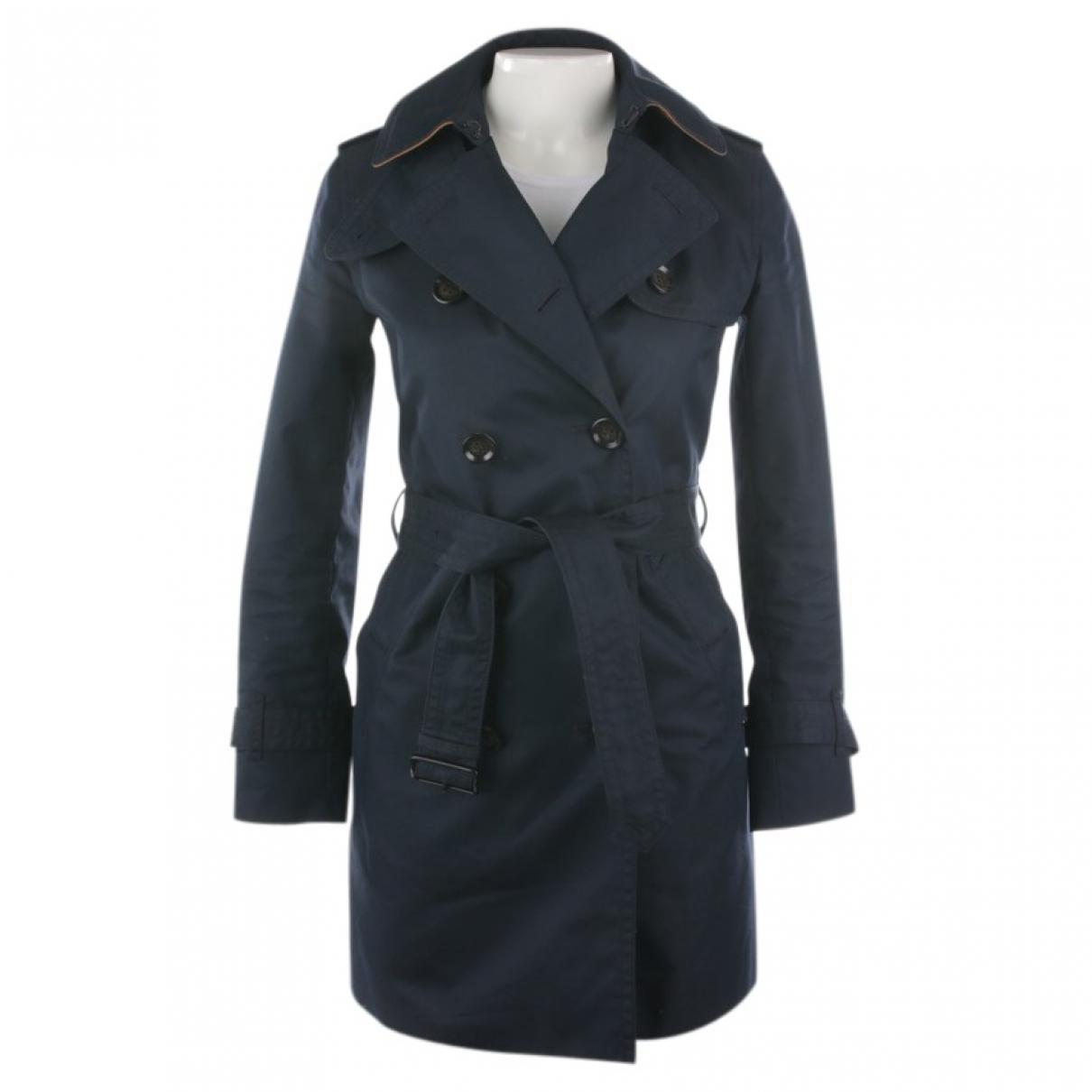 Coach - Veste   pour femme en coton - bleu
