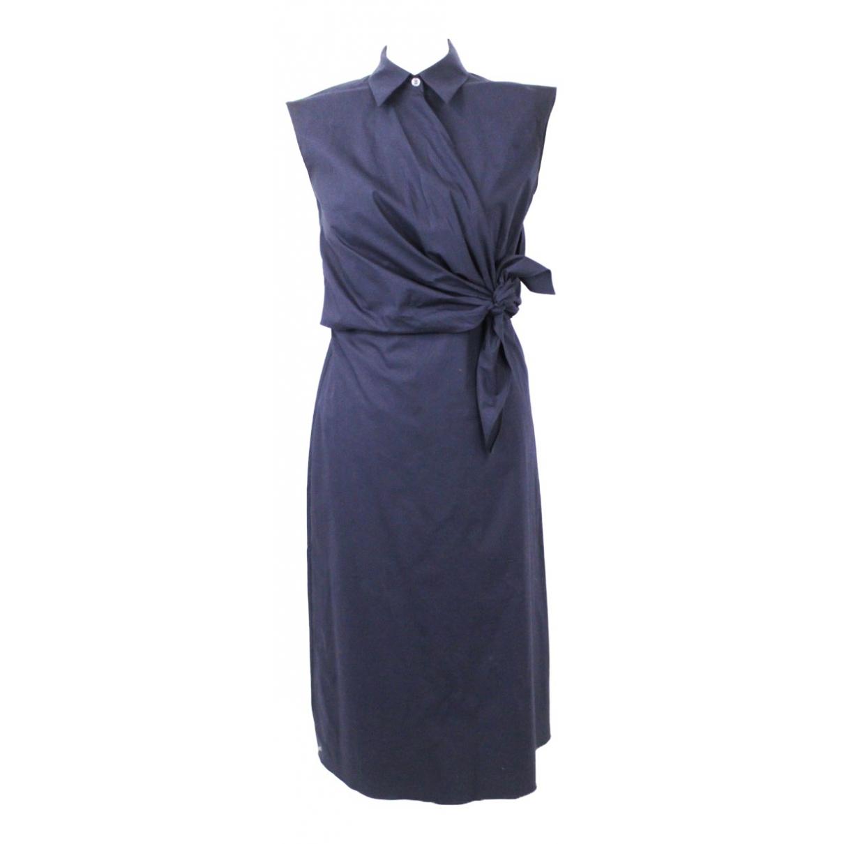 J.w. Anderson \N Navy Cotton dress for Women 8 UK