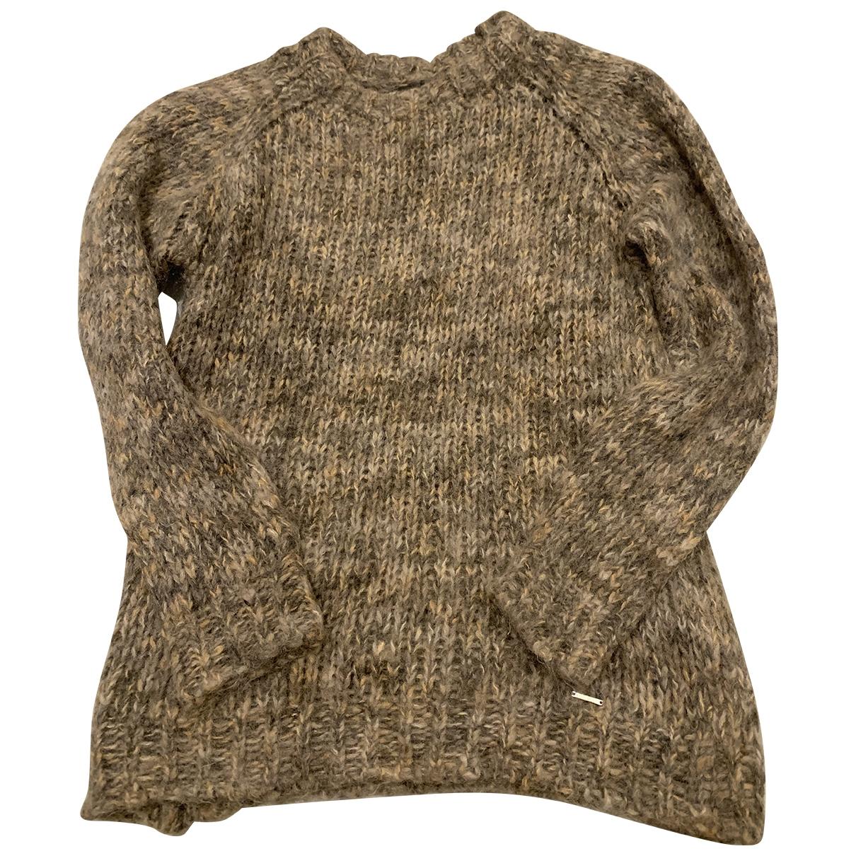 Diesel - Pull   pour femme en laine - marron