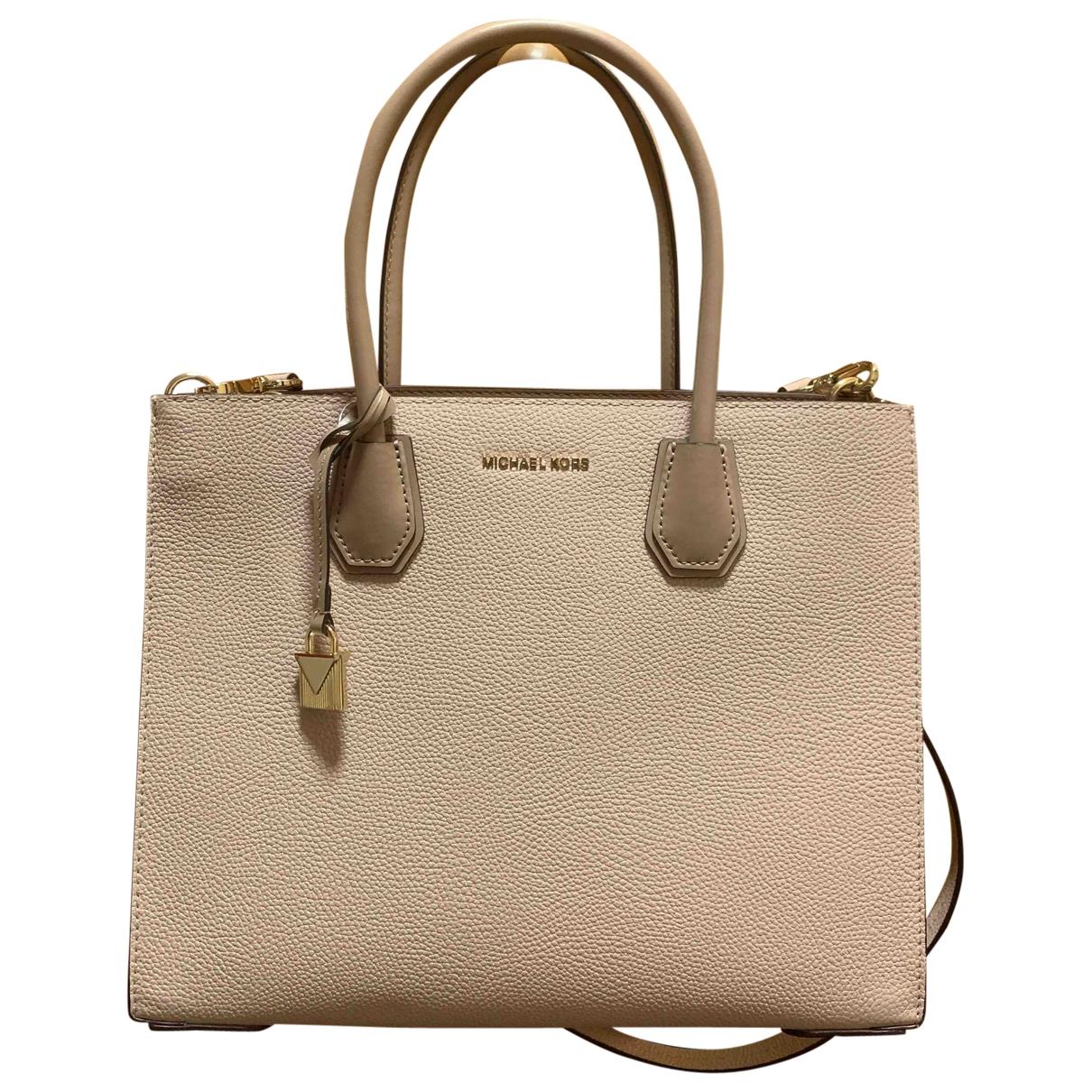 Michael Kors Mercer Pink Leather handbag for Women \N